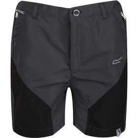 Regatta Sorcer Mountain Shorts Kids, seal grey/black